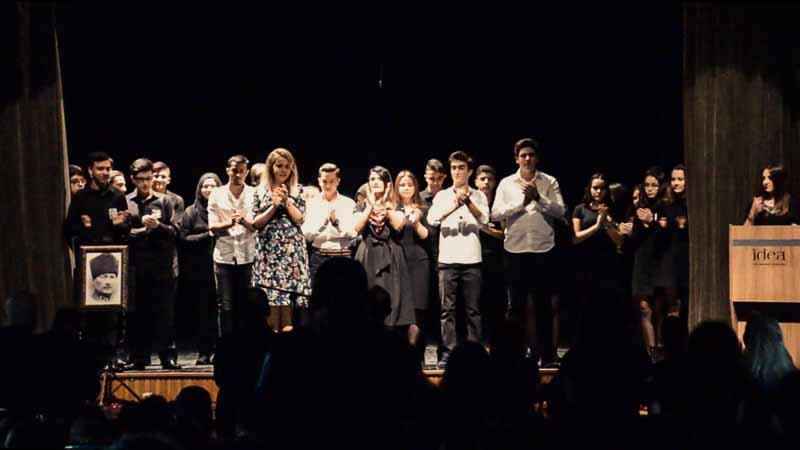 İdea koleji öğrencileri konser