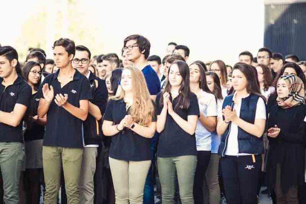 İdea Koleji Öğrenciler Toplu Halde